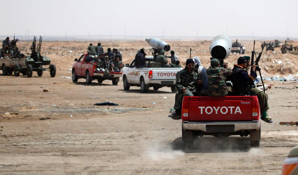 Libyan Rebel's Weapons Ingenuity S_r30_19120966
