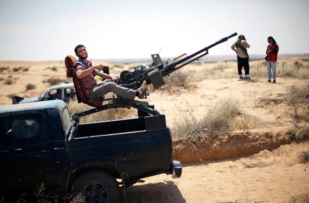 Libyan Rebel's Weapons Ingenuity S_r34_27115734