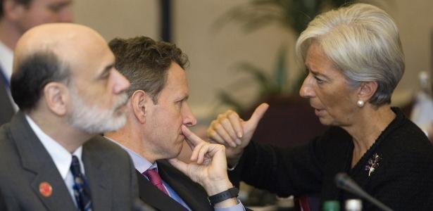 IMF Torpedoes ECB 615%20bernanke%20geithner%20lagarde%20REUTERS%20Andrew%20Winning
