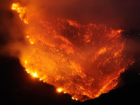 """Mandatory Evacuations - Wildfires approaching """"The General Sherman"""" - Tallest Tree on EARTH! 03092012WildfireCalifornia_6619414"""