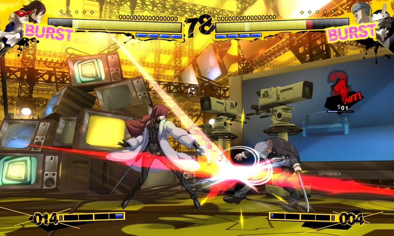 Persona 4 Fightan' Game?! :V 75343