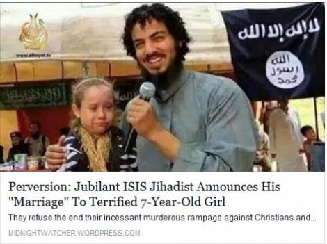 La Guerre des Images contre Islam Isis-girl-marriage
