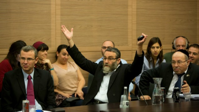 Gafni : les Juifs réformés trahison Gafni-protesting1-635x357