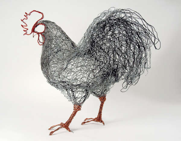 Wire Art - Page 2 Bird-sculpture