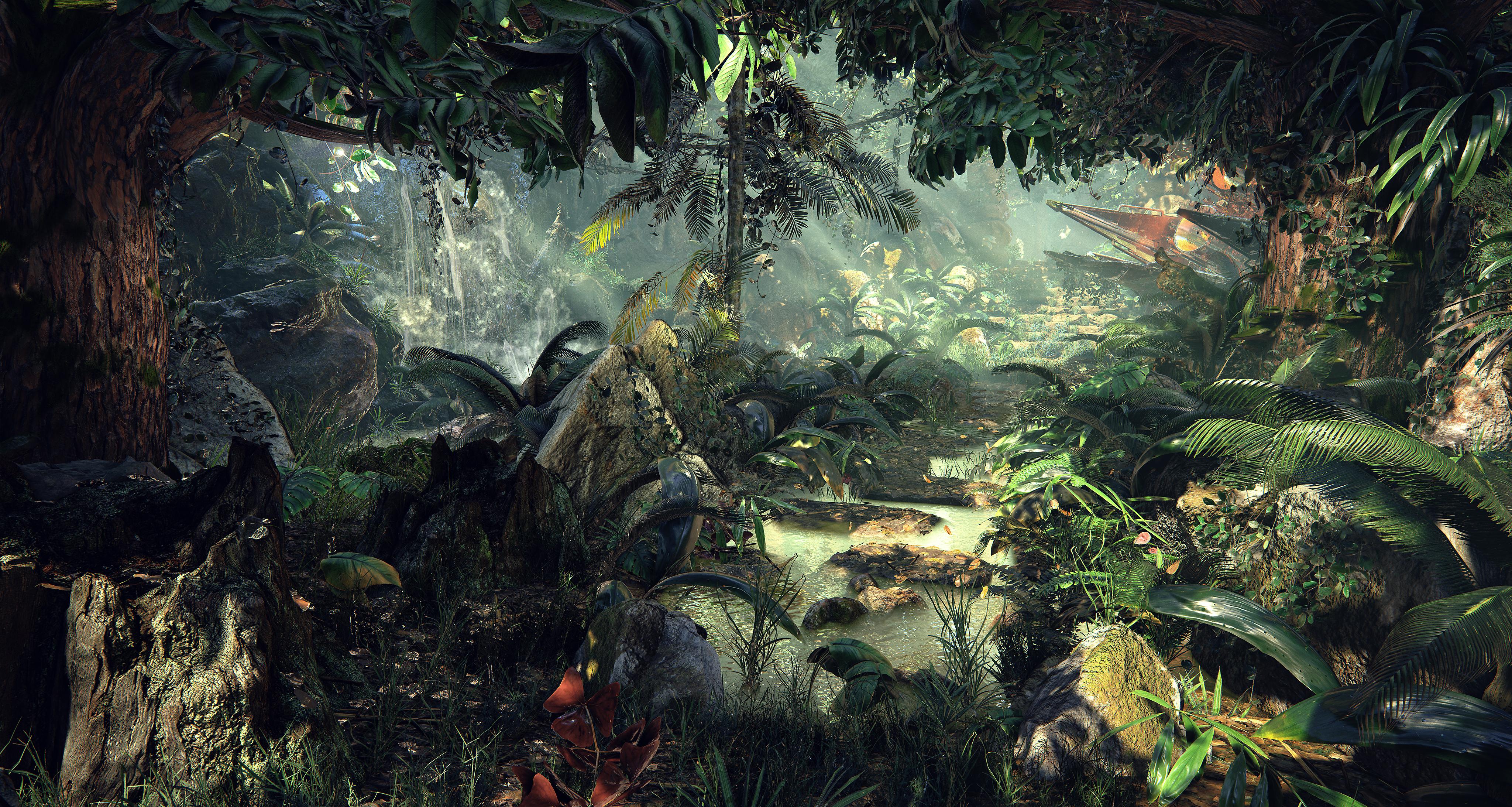 Unreal Engine 4 download Unreal-Engine-4-Quixel%E2%80%99s-Jungle-Environment-1