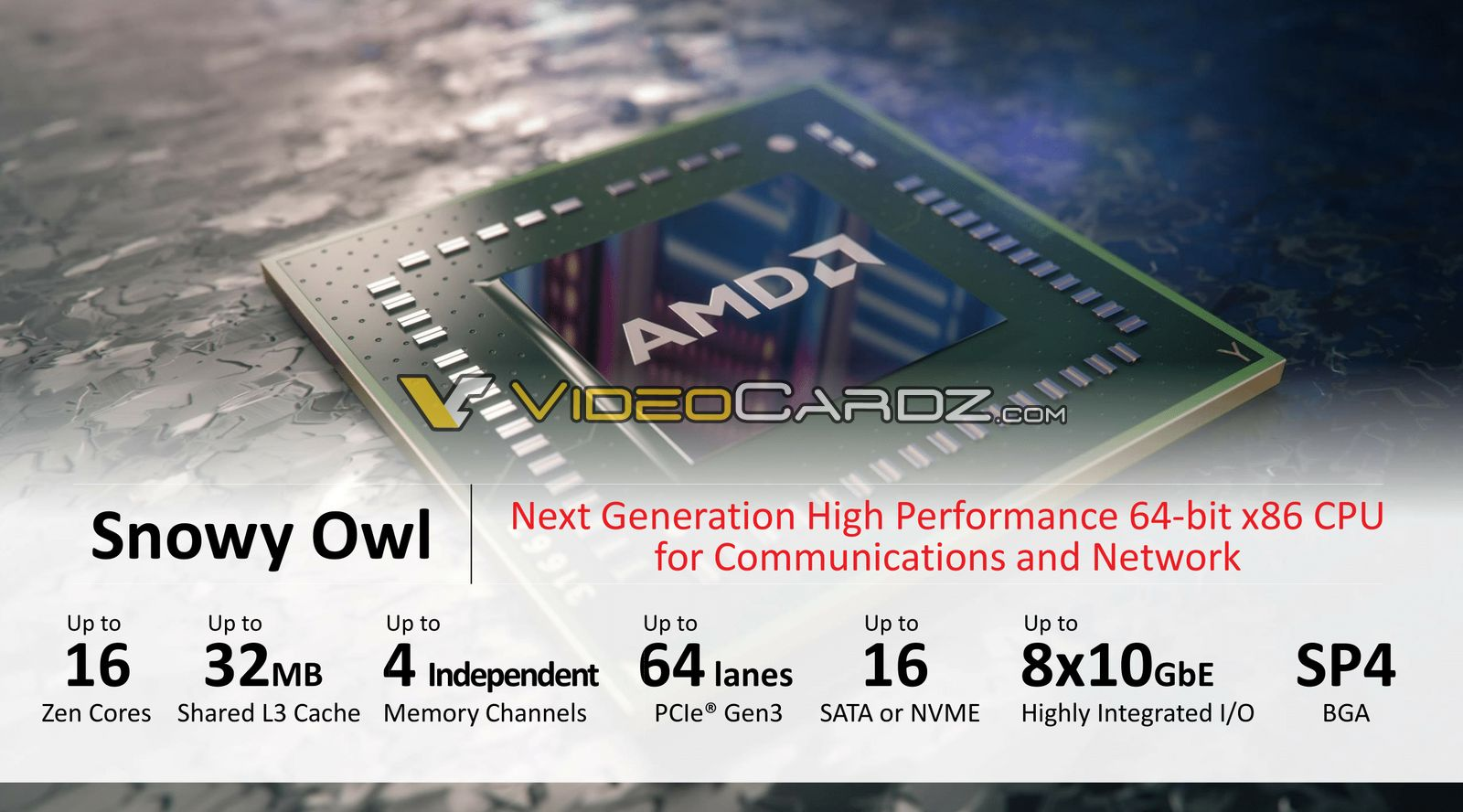 AMD Zen Based Enterprise CPU / APU Roadmap Leaked: 14nm Naples With 32 Cores in 2017, 7nm Starship With 48 Cores  AMD-Snowy-Owl-Naples-16-Zen-Core-1