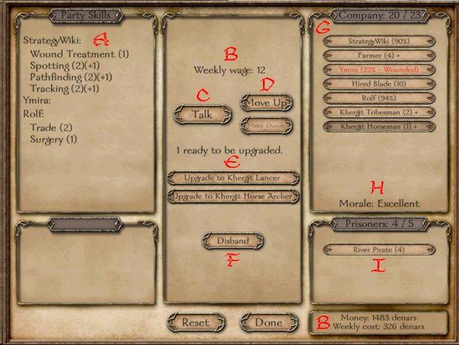 ¿Cual reino tiene los mejores arqueros? 650px-Mount%26Blade_normal_party_screen