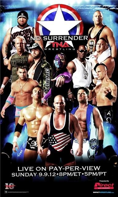 TNA No Surrender du 09/09/2012 Tnanosurrenderposter