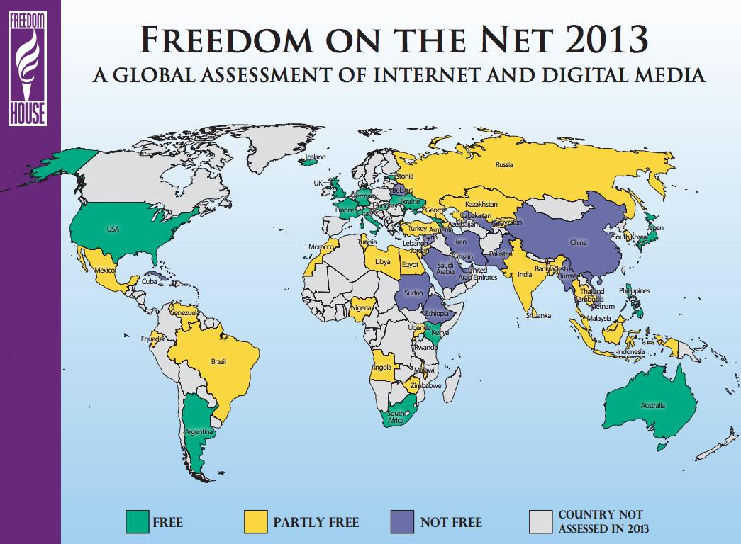 29 خريطة تشرح لك الإنترنت World_censorship
