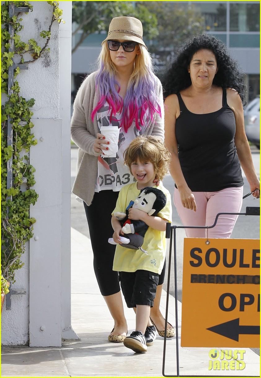[Fotos] Christina Aguilera y Matthew Rutler: De compras con Max! (Sabado 6 octubre) Christina-aguilera-matthew-rutler-shopping-with-max-03