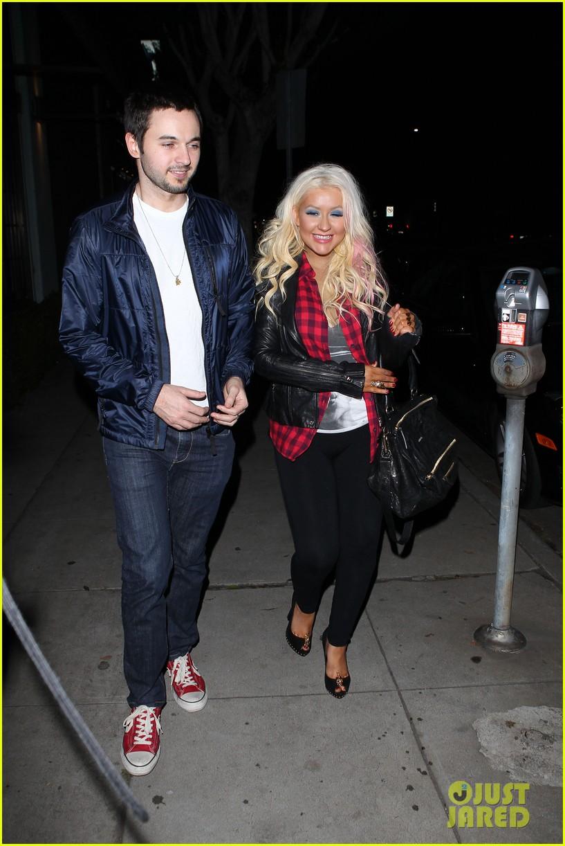 Christina Aguilera & Matthew Rutler: Osteria Mozza Date Night! Christina-aguilera-matthew-rutler-osteria-mozza-date-night-04