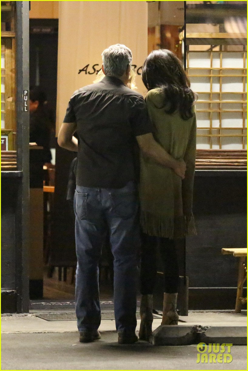 George and Amal Clooney Their First Valentine's Day George-clooney-amal-valentines-day-03