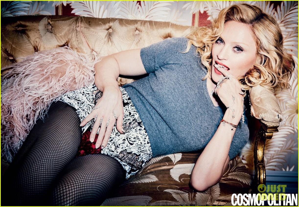 Madonna posa para el 50 Aniversario de COSMOPOLITAN MAGAZINE. Madonna-is-all-about-sex-for-cosmos-50th-anniversary-issue-03