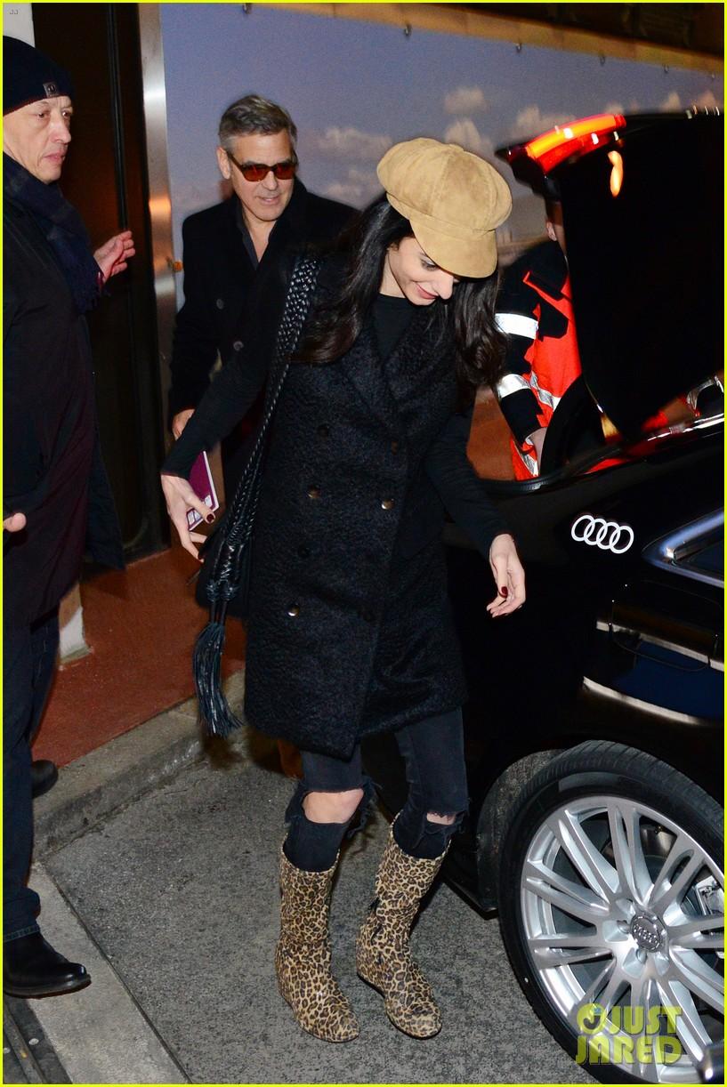 George Clooney & Amal arrive in Berlin 10.02.2016 George-clooney-amal-arrive-berlin-film-festival-02