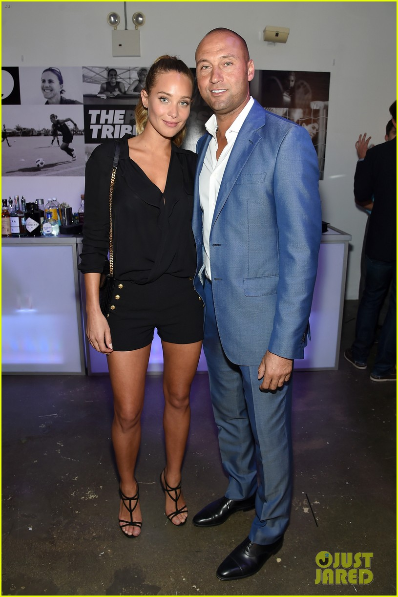 ¿Cuánto mide Hannah Davis? - Real height Hannah-jeter-is-pregnant-expecting-first-child-derek-jeter-05
