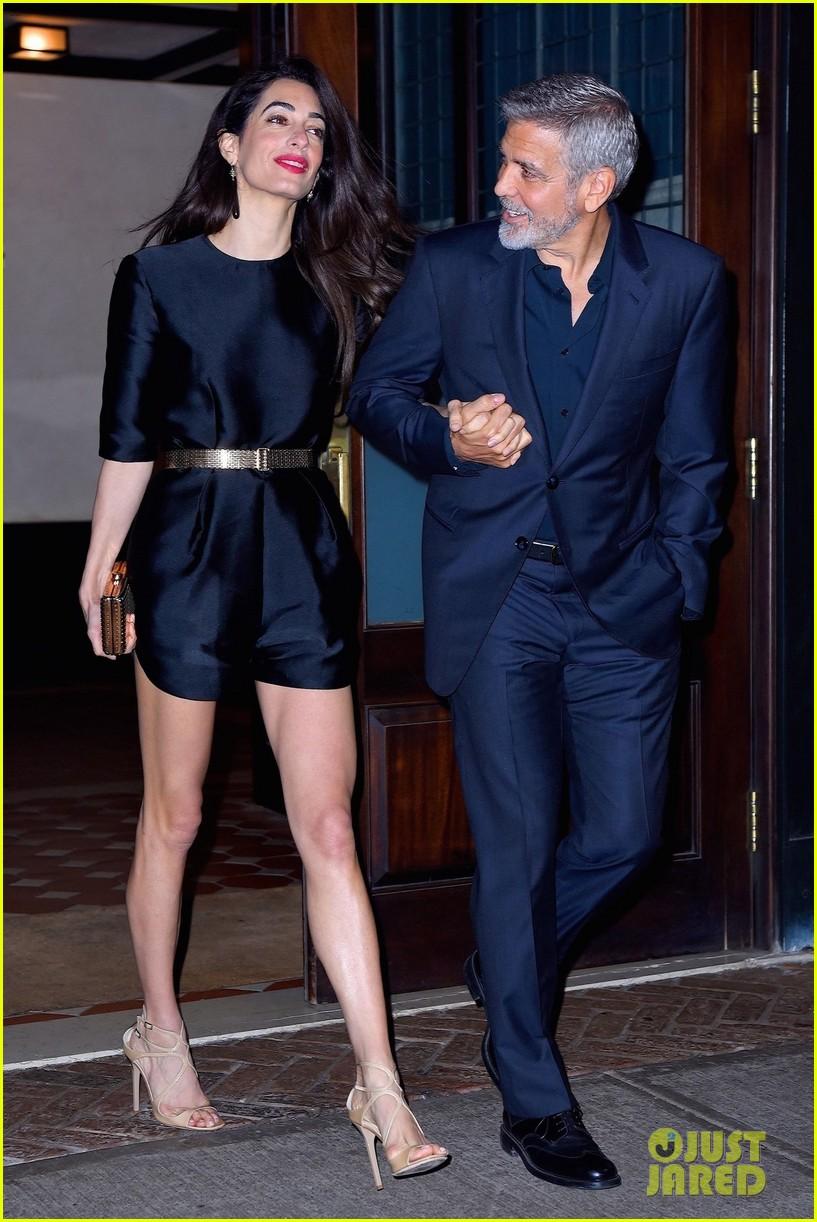George Clooney celebrates his birthday in New York at Laconda Verde George-clooney-amal-birthday-dinner-01