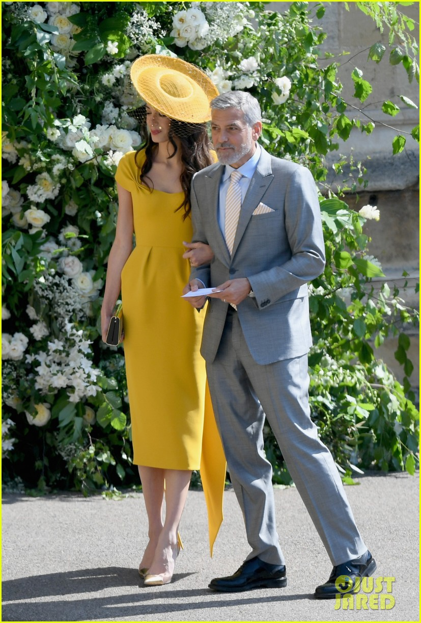 George and Amal Clooney at the Royal Wedding George-clooney-amal-clooney-royal-wedding-05