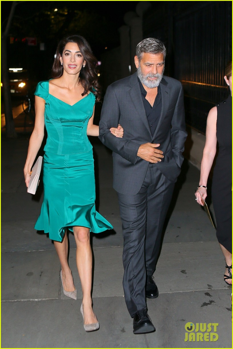 George and Amal heading for The Frick, NYC tonight George-amal-clooney-step-out-in-style-for-night-out-in-nyc-01