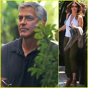 George Clooney & Amal Alamuddin Celebrate Their Engagement Surrounded By Celebrity Friends! George-clooney-celebrates-engagement-to-amal-alamuddin-surrounded-by-celebrity-pals
