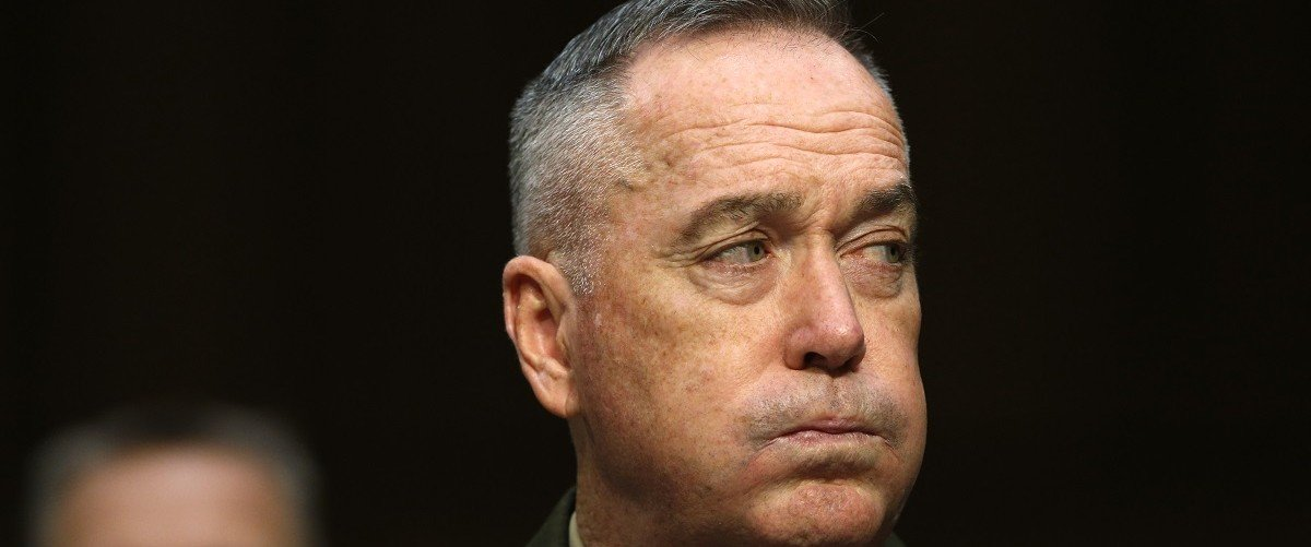 Top US General Pleads With Troops Not To Revolt Over 2016   Dunford-e1464097631970