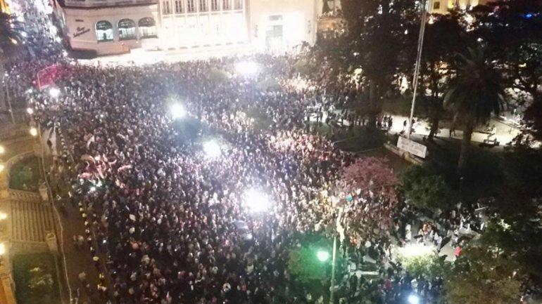 Protestas contra fraude electoral en Tucuman termina con represion policial 0013230048