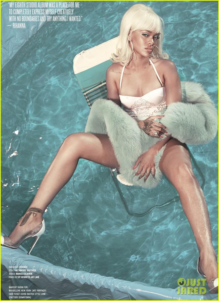 Rihanna posó para V MAGAZINE. Rihanna-v-magazine-cover-03