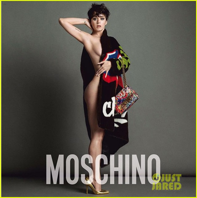 Katy Perry is the MOSCHINO face. Katy-perry-bares-a-lot-of-skin-moschino-ads-01
