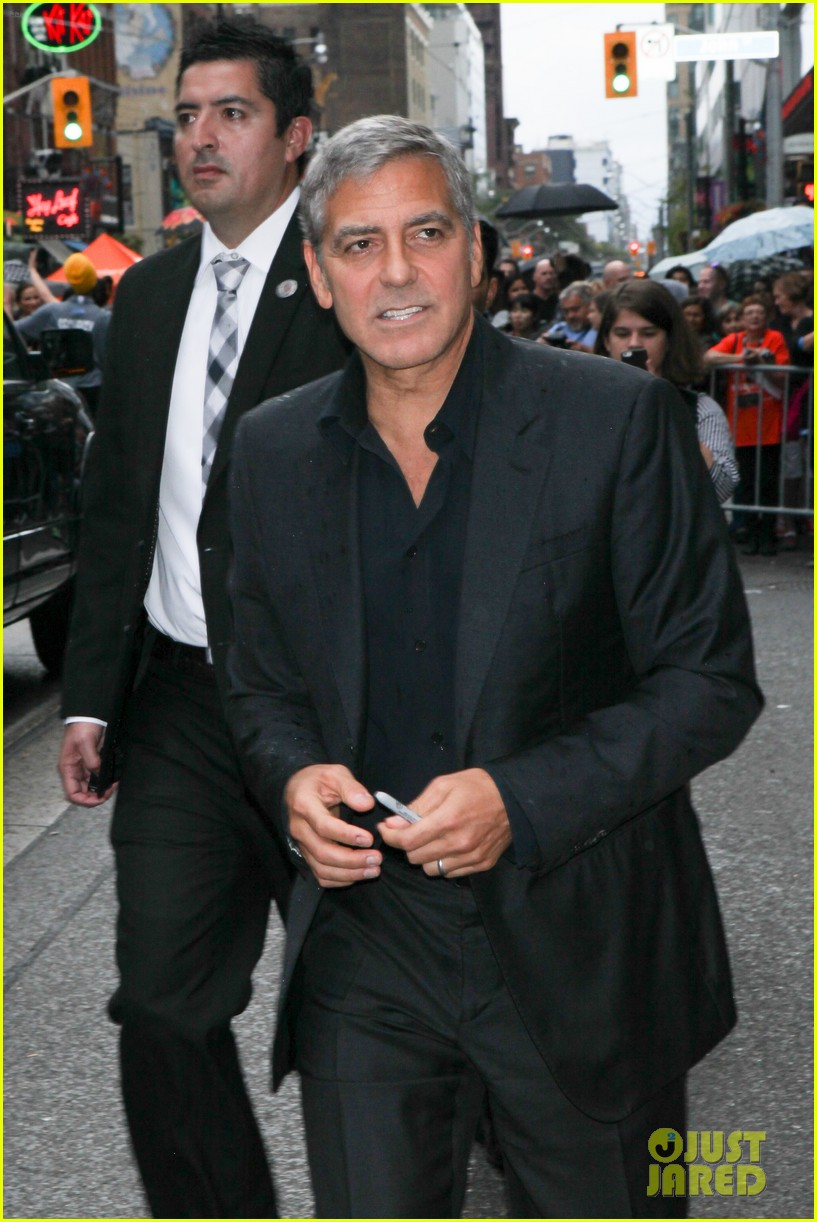 George Clooney at Toronto film festival 11th September 2015 Sandra-bullock-george-clooney-our-brand-is-crisis-premiere-24