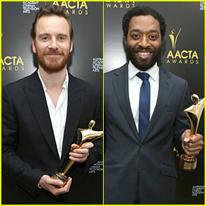 'Gravity' Takes Top Prize At Australian Academy International Awards Michael-fassbender-chiwetel-ejiofor-winners-at-aacta-awards-2014