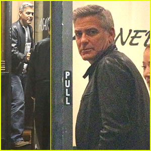 George Clooney Out To Dinner in LA Sunday Night  19 October 2014 George-clooney-wife-amal-is-powerful-woman-in-london