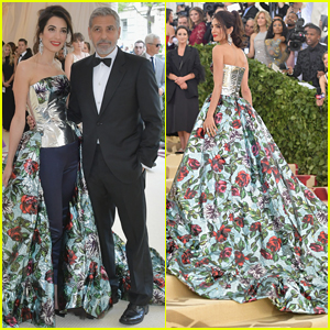 George and Amal at Met Gala Amal-clooney-george-clooney-met-gala-2018