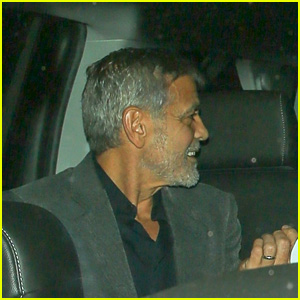 George Clooney Enjoys Dinner With a Friend at Craig's! George-craigs