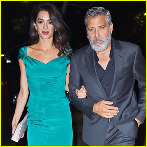 George and Amal heading for The Frick, NYC tonight George-amal-clooney-step-out-in-style-for-night-out-in-nyc