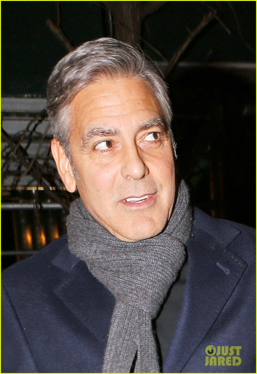 George Clooney and Amal out for dinner on the Upper East Side at Kappo Masa George-clooney-amal-date-night-04