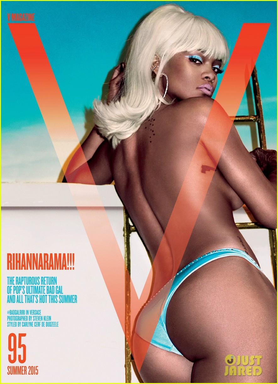 Rihanna posó para V MAGAZINE. Rihanna-v-magazine-cover-01