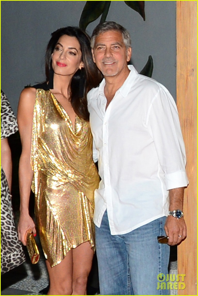 George & Amal Clooney, the Gerbers at the Ibiza launch of their Casamigos tequila August 23, 2015 George-amal-clooney-launch-tequila-ibiza-02