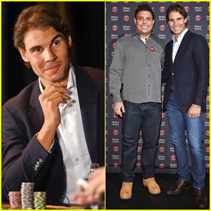 ¿Cuánto mide Ronaldo Nazario? - Estatura y peso - Real height and weight Rafael-nadal-beats-ronaldo-nazario-in-poker-match-for-charity