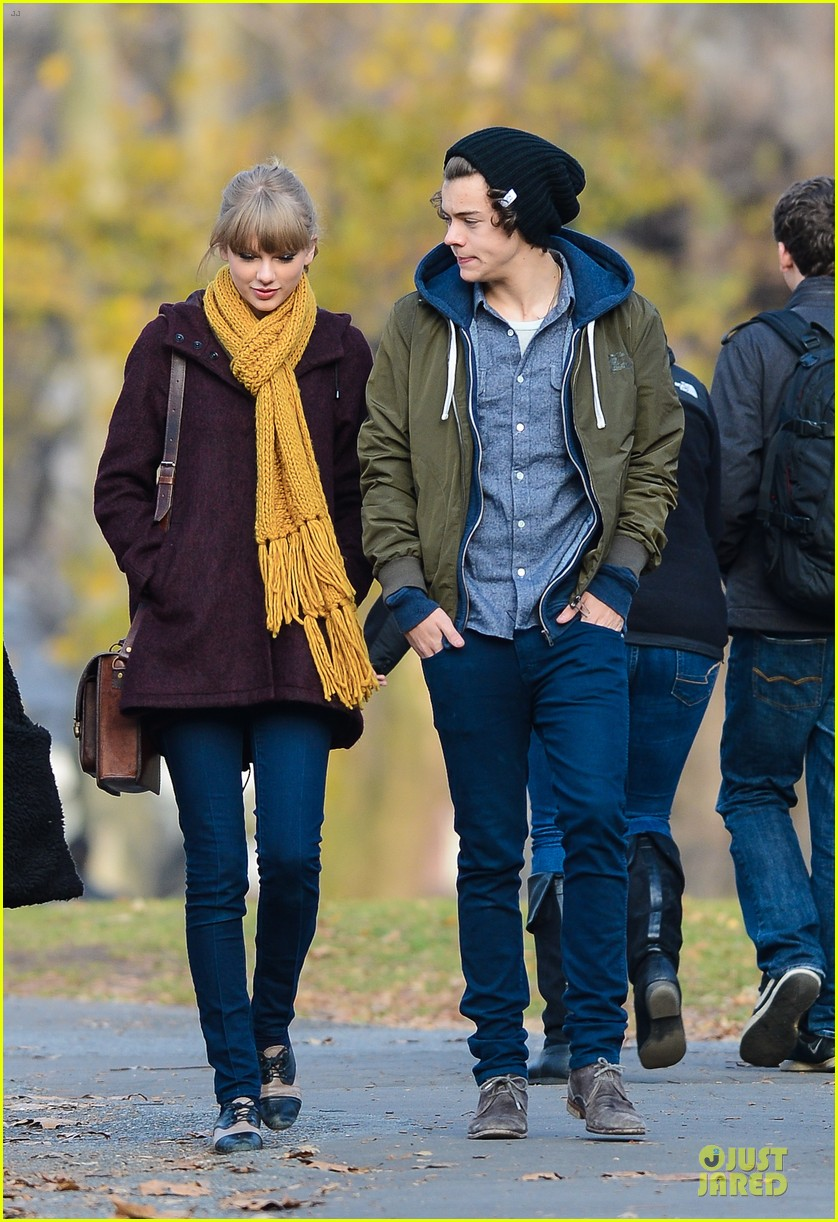 ¿Cuánto mide Harry Styles? - Altura - Real height Taylor-swift-harry-styles-central-park-stroll-01
