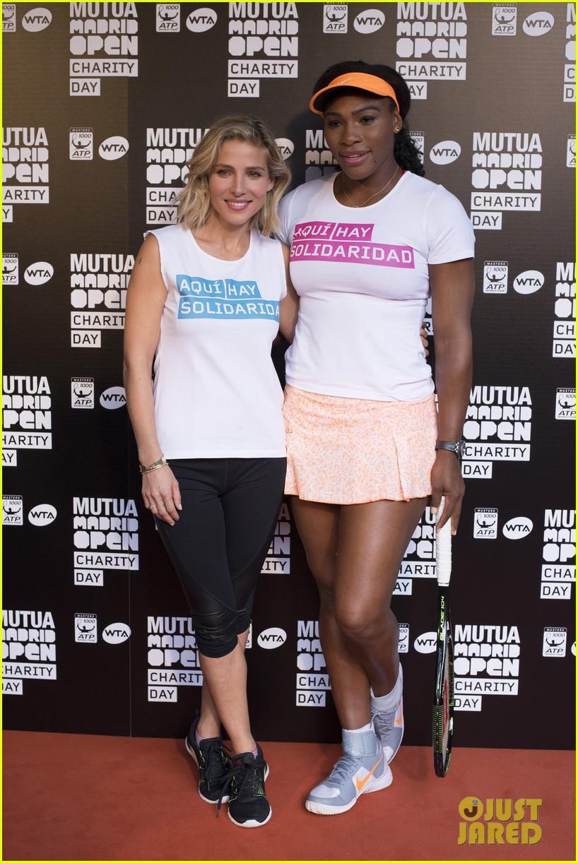 ¿Cuánto mide Serena Williams? - Altura - Real height Elsa-pataky-colton-haynes-serena-williams-tennis-madrid-03
