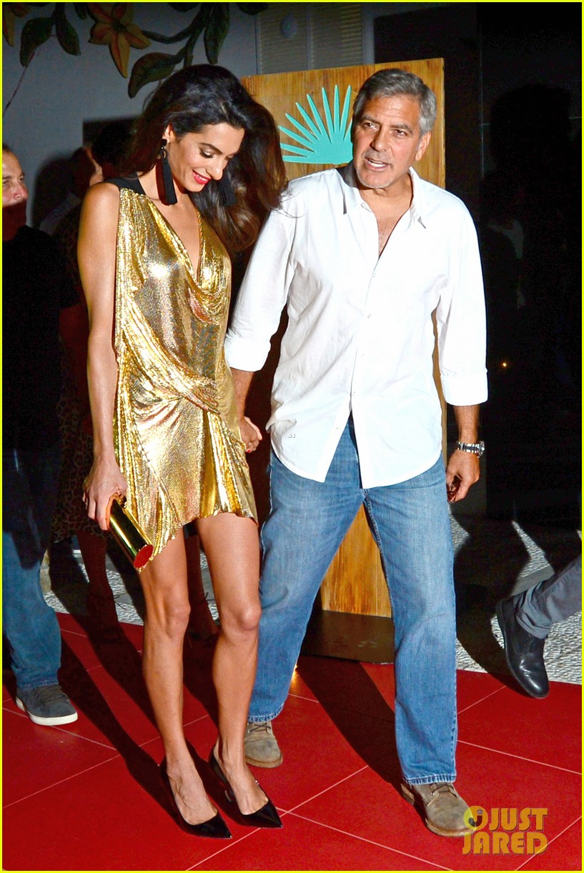 George & Amal Clooney, the Gerbers at the Ibiza launch of their Casamigos tequila August 23, 2015 George-amal-clooney-launch-tequila-ibiza-01