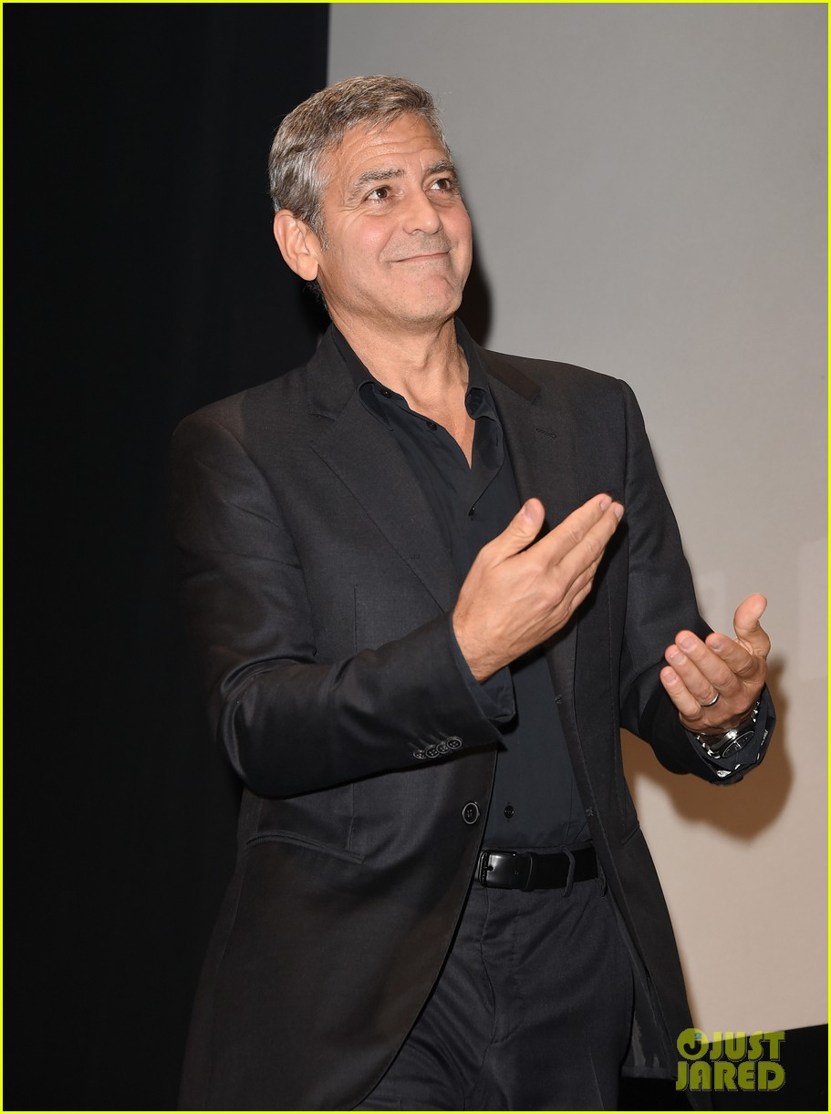 George Clooney at Toronto film festival 11th September 2015 Sandra-bullock-george-clooney-our-brand-is-crisis-premiere-04