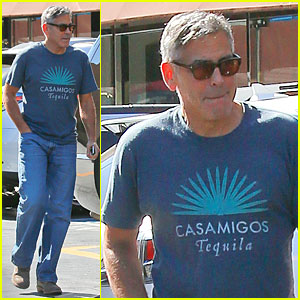 George Going To Chiropractor Appointment Tuesday, 10-21-14 George-clooney-brings-more-awareness-to-casamigos-tequila1