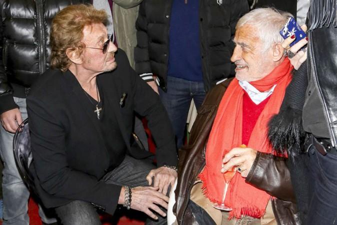 Jean-Paul Belmondo Johnny-Hallyday-et-Jean-Paul-Belmondo-a-l-inauguration-de-Jours-de-fete-au-Grand-Palais-a-Paris-le-19-decembre-2013_portrait_w674