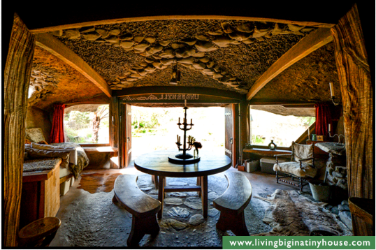 This One is for You Nannee! ~ The Magical Hobbit-Like Eco Cave House Cavehsedining1