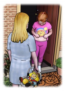 The Holistic Children's Author Who Is On A Mission To Save Our Children Melanies-MM-page-11-213x300