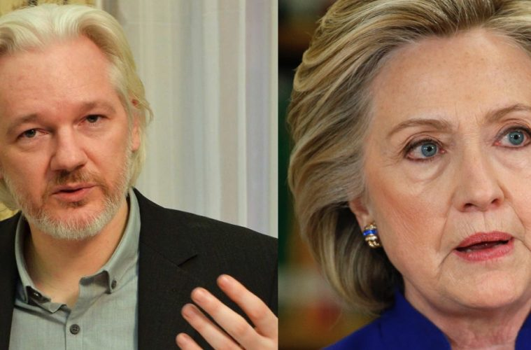 OCTOBER SURPRISE ~ Assange vs Clinton Assange-hillary-sbs-759x500