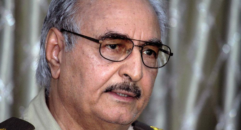 حفتر يزور موسكو لبحث الأزمة الليبية 1013508598