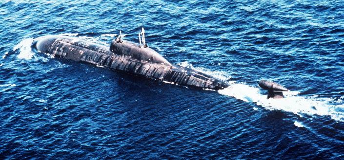 """الغواصة الروسية """"أكولا""""، قادرة على تدمير نصف أمريكا وكل أوروبا 1013784360"""