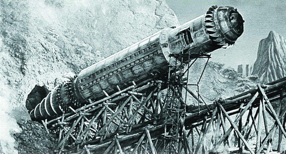 """""""الخلد المقاتل"""" - مركبة حربية سوفيتية تحت الأرض  1014435372"""