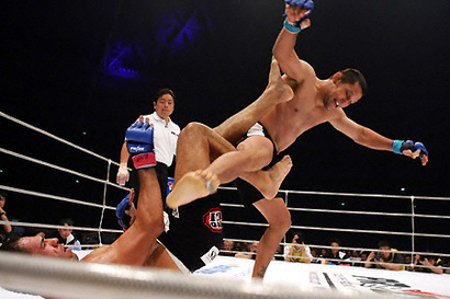 UFC: Hendo rechazó pelea con Minotoro en el UFC Suecia Susumu10